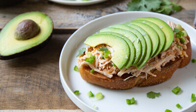 Tex Mex Chicken Avocado Toast