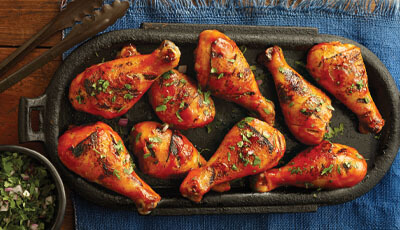 Honey Sriracha Drumsticks